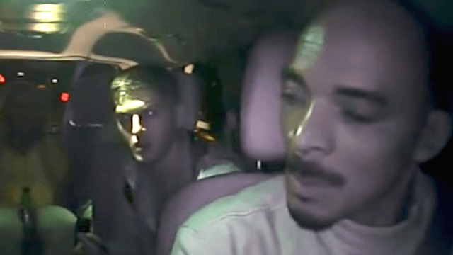 Uber driver kicks passengers out of his car for being racist. They respond with more racism.