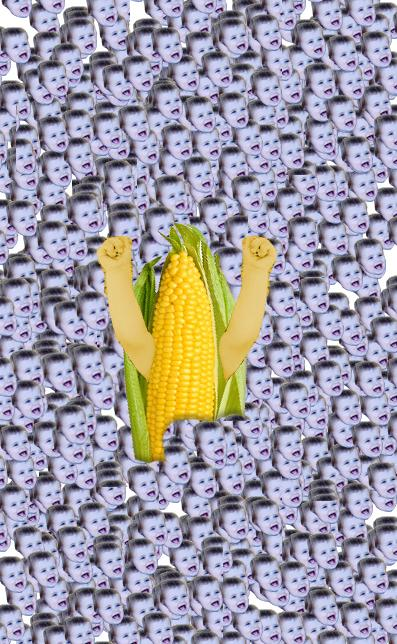 This adorable photo of a kid rejoicing in a pit of corn inspired a spectacular Photoshop battle.