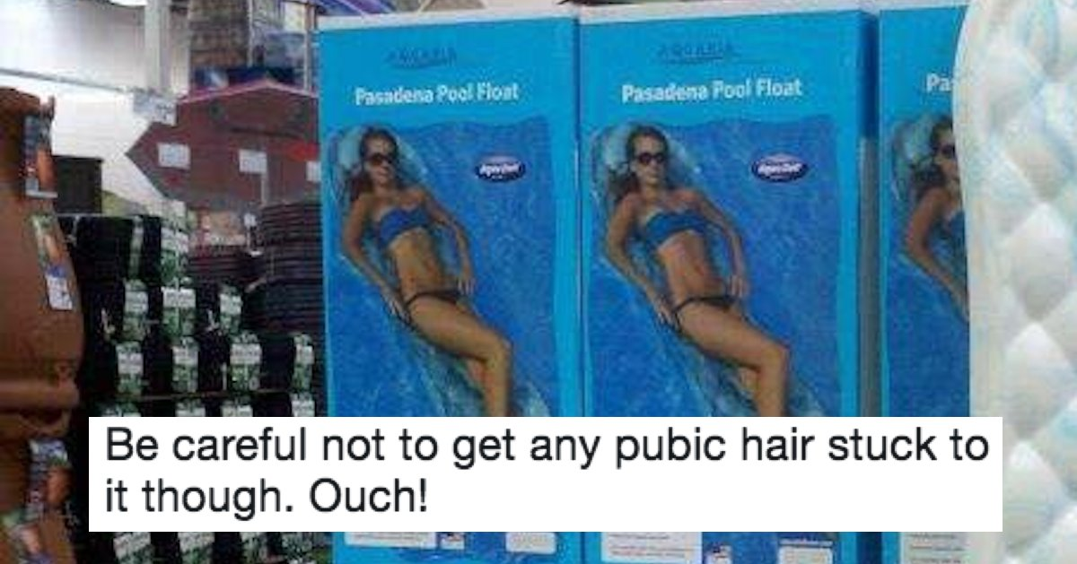 Umm, someone probably should have run this pool float design by women first. | Someecards News