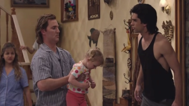 "The first bizarre clip from ""The Unauthorized Full House Story"" slams the Olsen twins' acting skills."