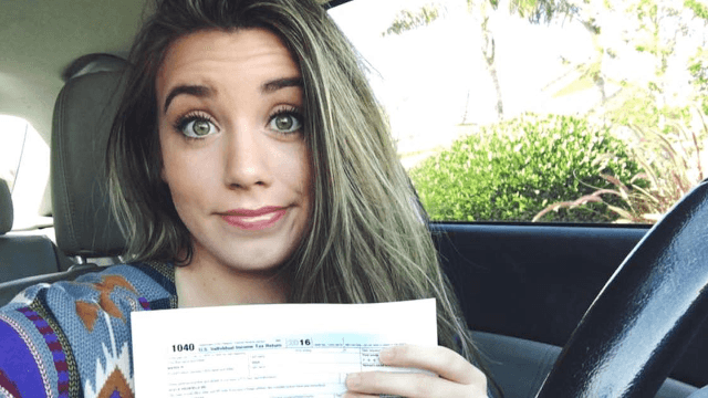 Undocumented immigrant gets deportation threats after photo of her tax form goes viral.