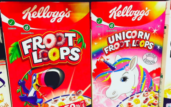 Unicorn Froot Loops Join the Colorful Food Craze