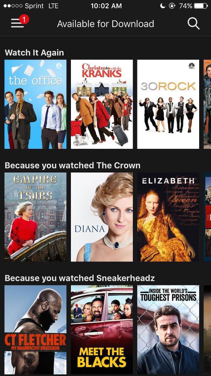 Netflix\'s new update allows you to binge-watch offline. | Someecards TV