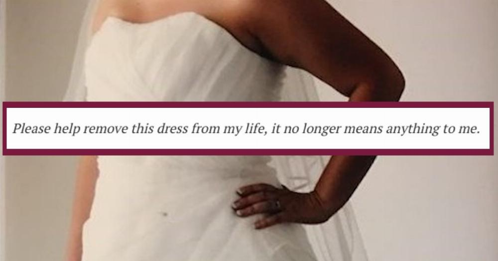 Woman Writes Hilarious Ad Selling Wedding Dress Worn Once By Mistake Someecards Breakups,Wedding Guest Zara Evening Dresses