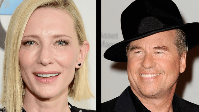 Val Kilmer's obsession with Cate Blanchett is NOT 'creepy,' according to Val Kilmer.