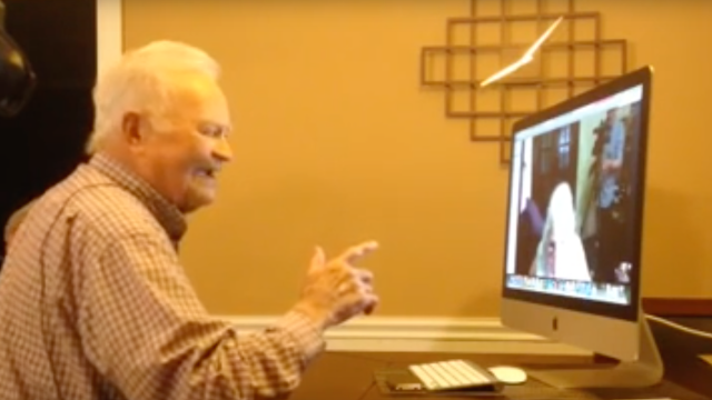 A 93-year-old WWII vet gets reunited with the wartime girlfriend he last saw 70 years ago.