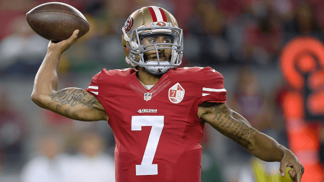 Veterans defend NFL quarterback Colin Kaepernick's choice to sit during the national anthem.