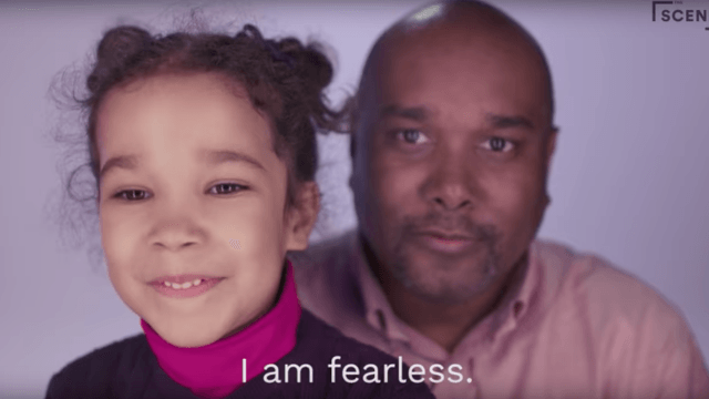 Video of dads reading affirmations with their young daughters will make you cry all the tears.