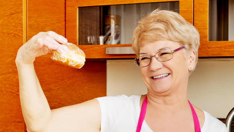 Grandma's hilarious voicemail confession insists she is not to be trusted with donuts.