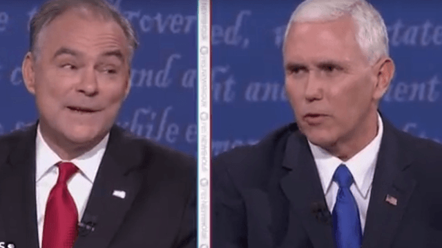 The 9 best smart-ass responses to Donald Trump's live-tweets during the VP debate.