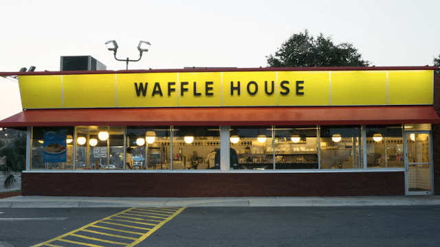 Drunk guy finds Waffle House staff asleep, takes matters into his own hands.