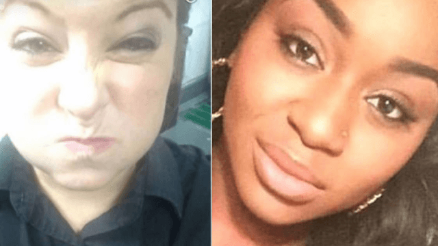 Woman won't let it stand when waitress posts racist Snapchat behind her back.