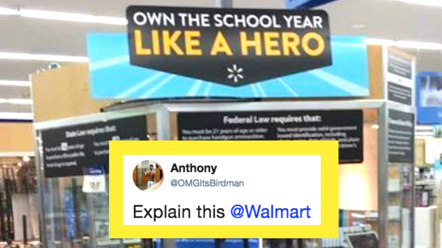 Walmart apologizes for horrendously offensive back-to-school sign placement.