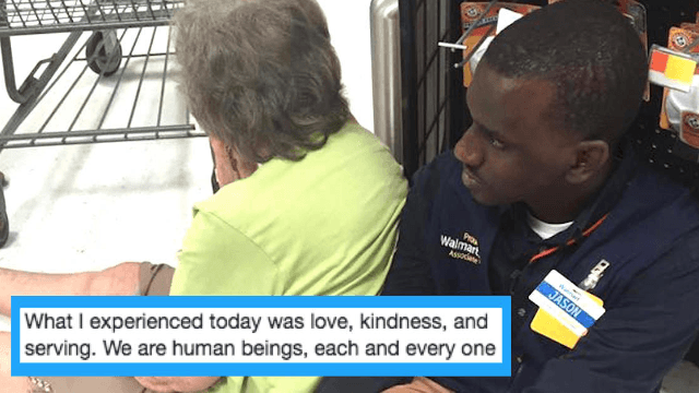 Employee's act-of-kindness for sick customer is the best thing to ever happen at Walmart.