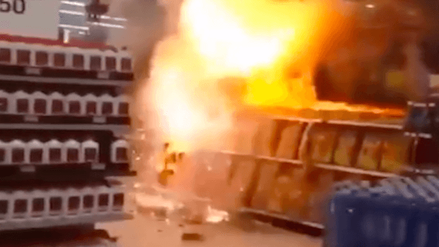 Two idiots are going to jail for setting off every single firework in a Walmart.