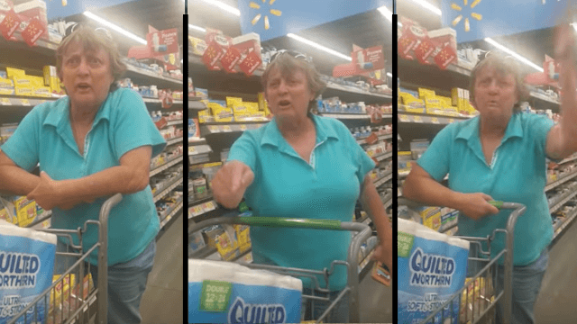 Walmart shopper tells woman to 'go back to Mexico' in incredibly racist rant.