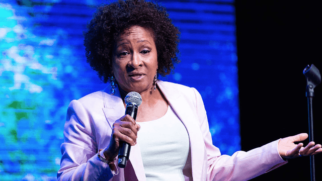 Wanda Sykes was booed off stage for daring to criticize Trump.