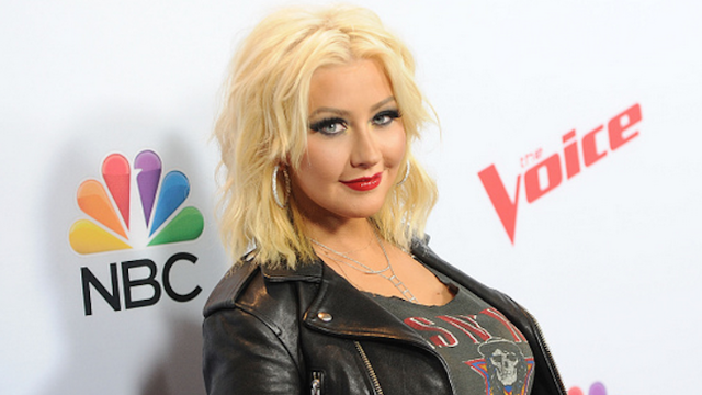 Want to see Christina Aguilera's topless selfie? Probably. Right?