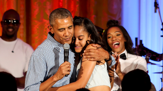 watch barack obama talk about sobbing when he dropped malia off at