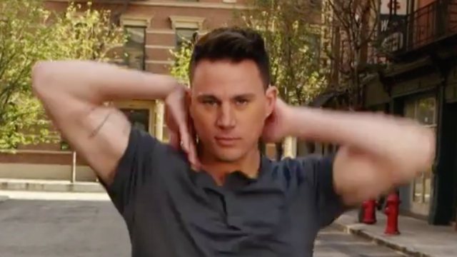 Channing Tatum breaks it down with 7 dance moves in 30 seconds.