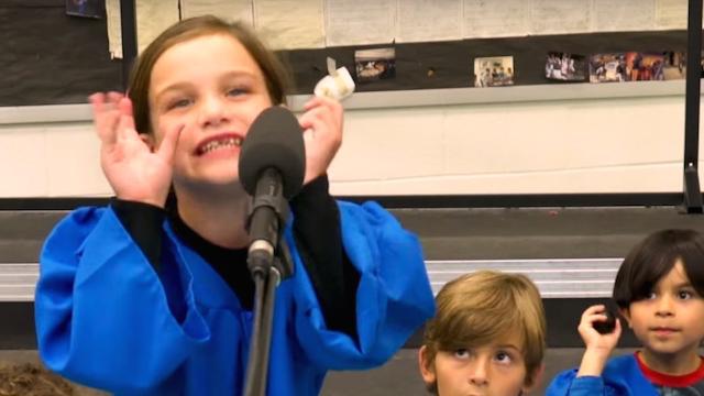 Trump's tweets make more sense when sung by a children's choir.