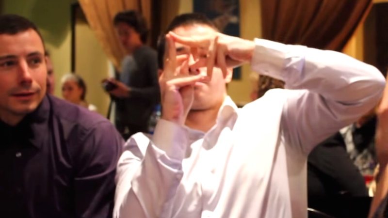 Watching this deaf man's finger dance will make you rethink what dancing can be.