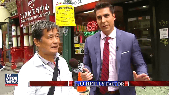 Fox News' Jesse Watters jam-packed almost every offensive Asian stereotype into a quick 5 minutes.