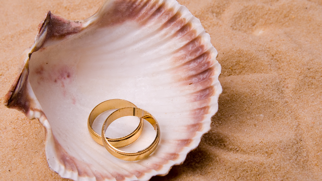 World's luckiest unlucky guy recovers the wedding ring he lost in the depths of the ocean.