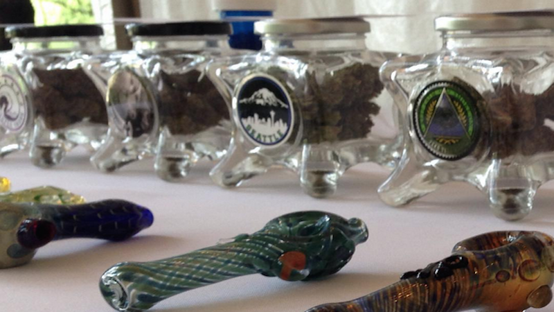 Having a weed tent at your wedding is the dope new trend.