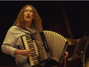 "Weird Al put himself and his accordion in ""Whiplash,"" and took some serious abuse from J.K. Simmons."
