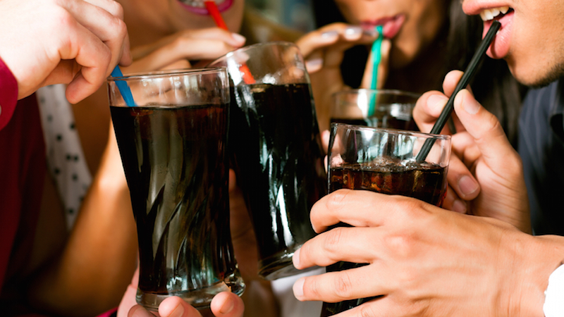 Here's what happens to your body if you only drink soda. Ew.