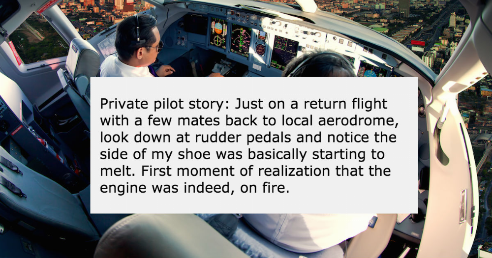 20 people answer the question: what was your 'haha, I'm in danger' moment?