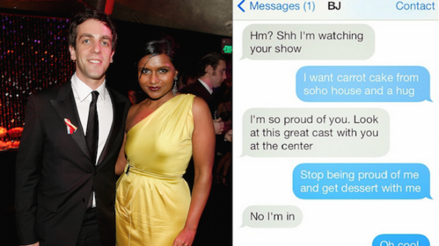What we can learn about celebrity friendships from their text conversations.