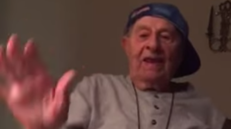 This 98-year-old's Whip/Nae Nae cover is the last one you'll ever need to see.
