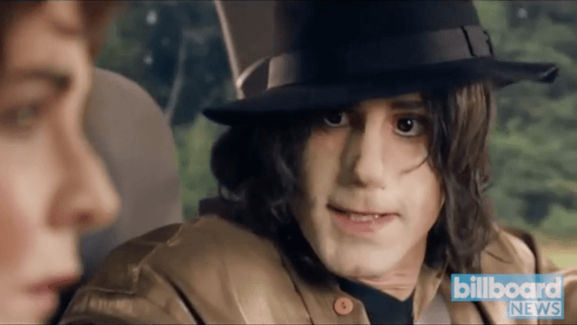 TV network cancels episode that featured a white actor as Michael Jackson.