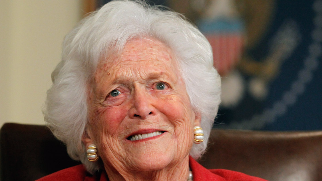 The White House managed to mess up their statement on Barbara Bush's death in a really ironic way.
