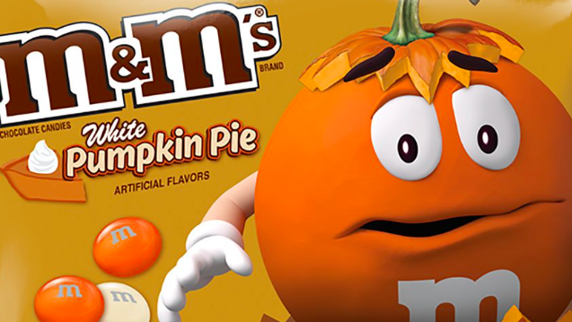 White Pumpkin Pie M&M's Have Arrived and It's Not Even Fall Yet