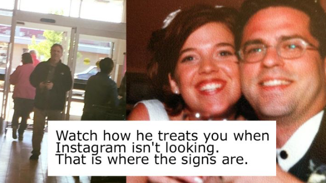 Wife's note about what love is like when 'Instagram isn't looking' goes instantly viral.