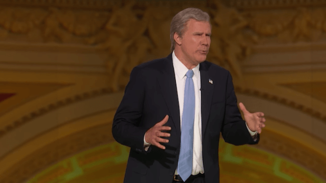 Will Ferrell brings back George W. Bush impression for 'Not the White House Correspondents' Dinner.'