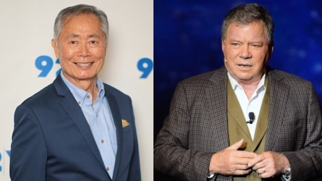 William Shatner takes aim at the Internet's favorite person, George Takei.