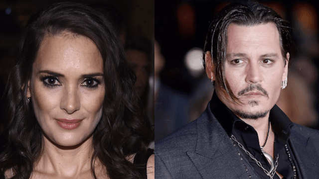 Winona Ryder emerges from time warp to give her take on ex-boyfriend Johnny Depp.
