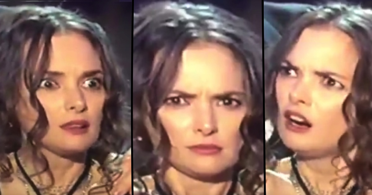 The internet is obsessed with Winona Ryder's facial expressions from the SAG Awards.