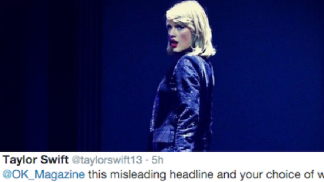 With one tweet, Taylor Swift shut down a tabloid and explained why we need feminism.