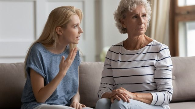Woman asks if it was 'manipulative' to tell daughter-in-law she needs nannying money.