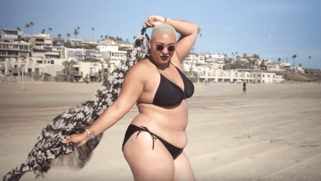 This woman wore a bikini for the first time ever and SLAYED.