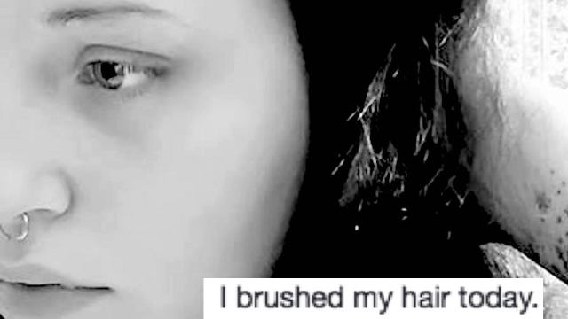 Woman goes viral with brutally honest post about what depression is really like.