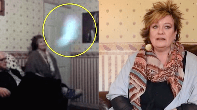 Woman says she's haunted by a 'man-hating' ghost who keeps scaring her boyfriends away.