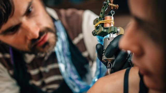 Woman recommends worst tattoo artist in town to friend who wants to copy her ink.