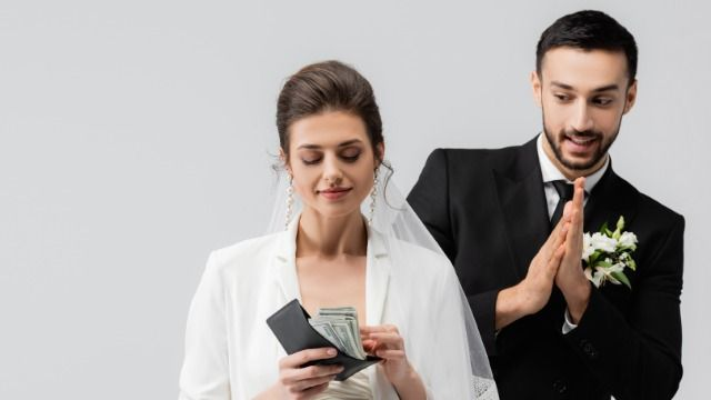 Woman asks if it's wrong to say friends use their destination weddings as cash grabs.