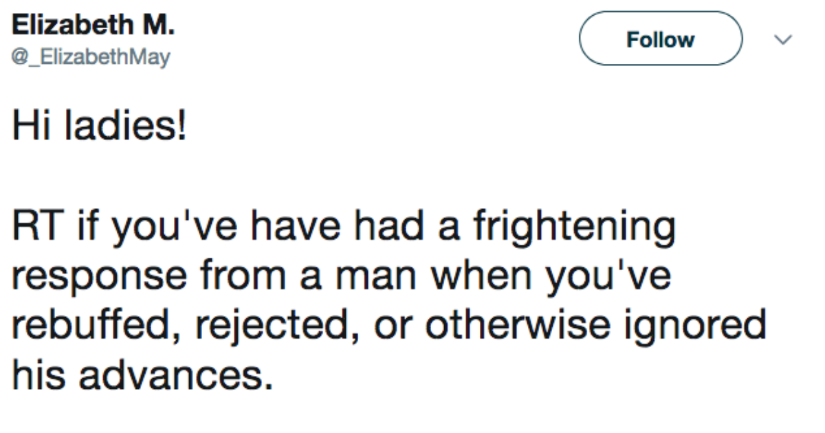 Women online are sharing men's responses to rejection, and it's not